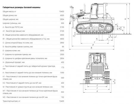 Трактор ТМ 10.00 ГСТ10